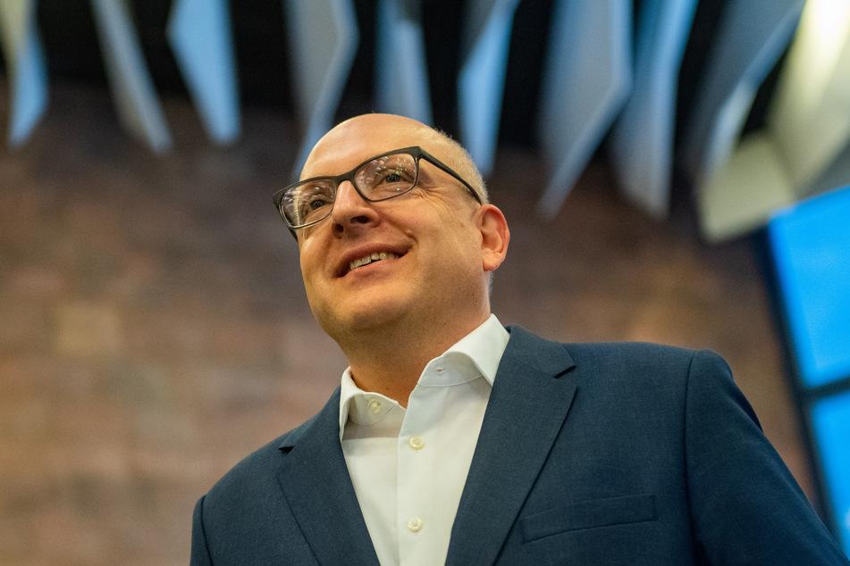OB Sven Schulze (49, SPD) freute sich über die endgültige Kulturhauptstadt-Entscheidung.