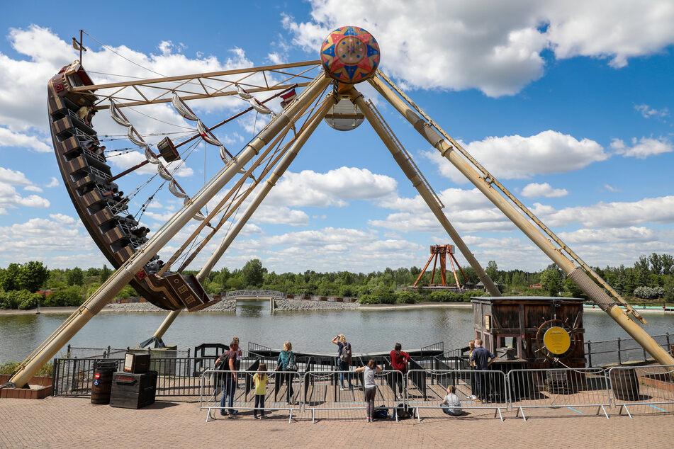 Der Freizeitpark Belantis bei Leipzig will ab 5. Juni wieder öffnen.