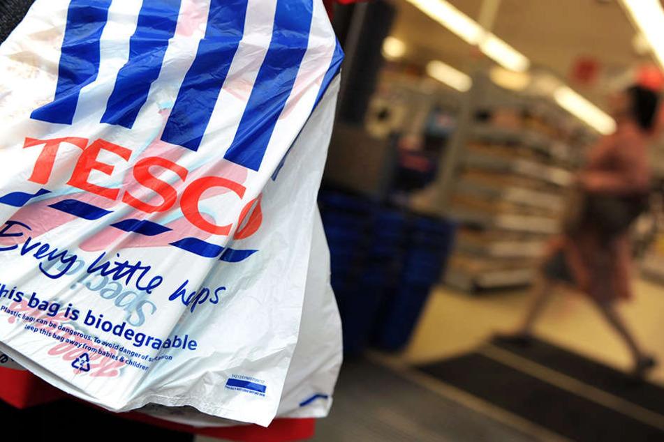 Die Ladenkette Tesco ist bei britischen Kunden sehr beliebt.