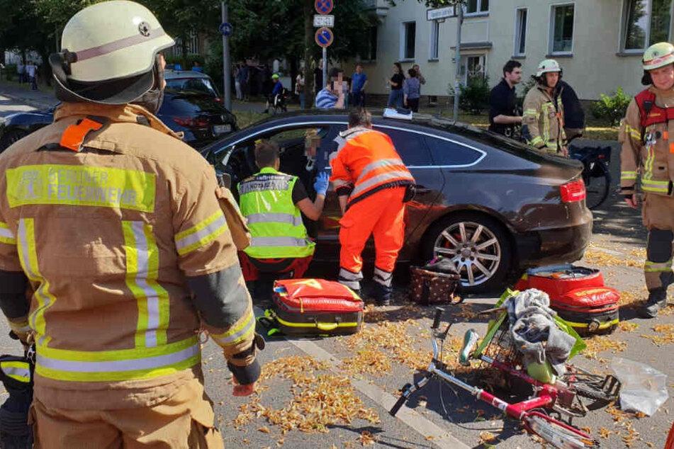 So wie hier kam es zwischen Januar und September in Berlin immer wieder zu schweren Verkehrsunfällen.