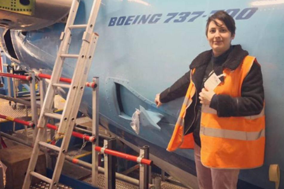 Unglaubliche Liebesgeschichte: Diese Berlinerin will eine Boeing heiraten