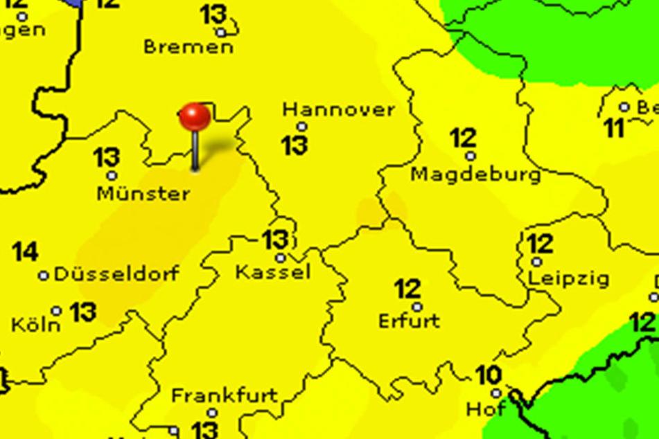 Am Mittwoch wird es nochmal richtig warm in Ostwestfalen-Lippe.