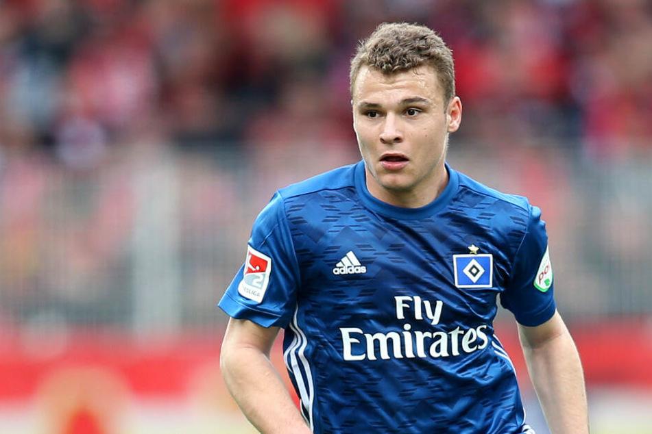 Vasilije Janjicic spielt nicht mehr im HSV-Trikot.