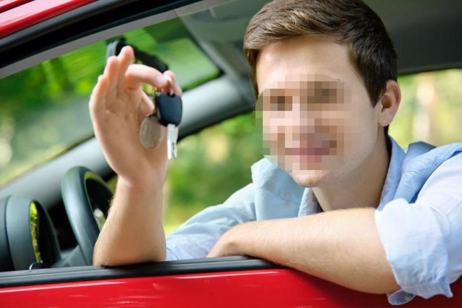 Der 16-Jährige schnappte sich den Schlüssel und fuhr los. (Symbolbild)
