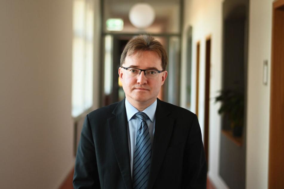 Oberstaatsanwalt und Pressesprecher der Zentralstelle Cybercrime, Thomas Goger.
