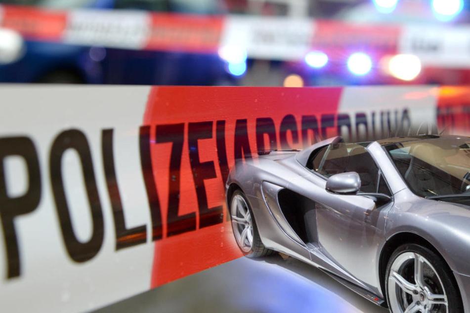 Der Schaden am Sportwagen wird auf 850.000 Euro geschätzt. (Symbolbild)