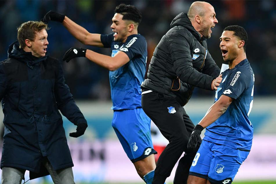 Den Kraichgauern tut es sichtlich gut, dass sie in der Europa League nur noch einmal zum Schaulaufen antreten müssen und sich ganz auf den Liga-Alltag konzentrieren können.