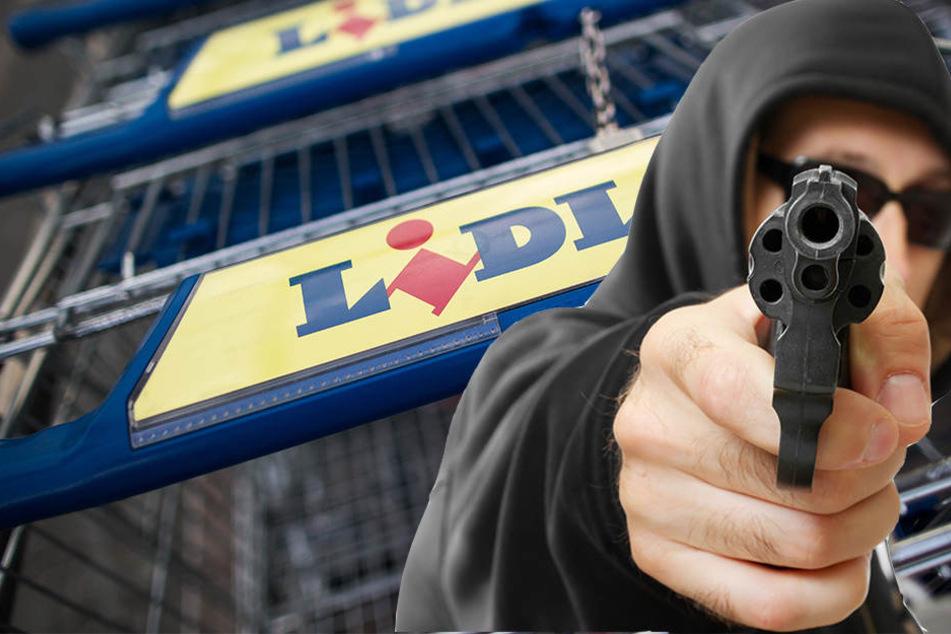 Einer der Täter hielt einer Kassiererin eine Pistole an den Kopf. (Symbolbild)