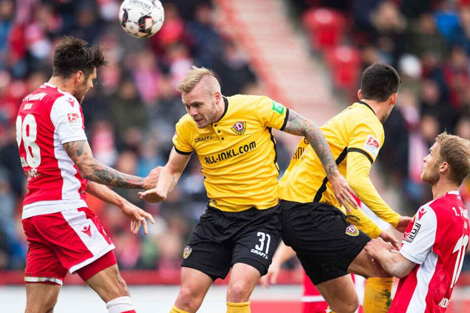 In der letzten Saison endeten die beiden Spiele zwischen Dynamo und Union jeweils 0:0. Ob es am Donnerstag ein torreicheres Spiel zu sehen gibt?