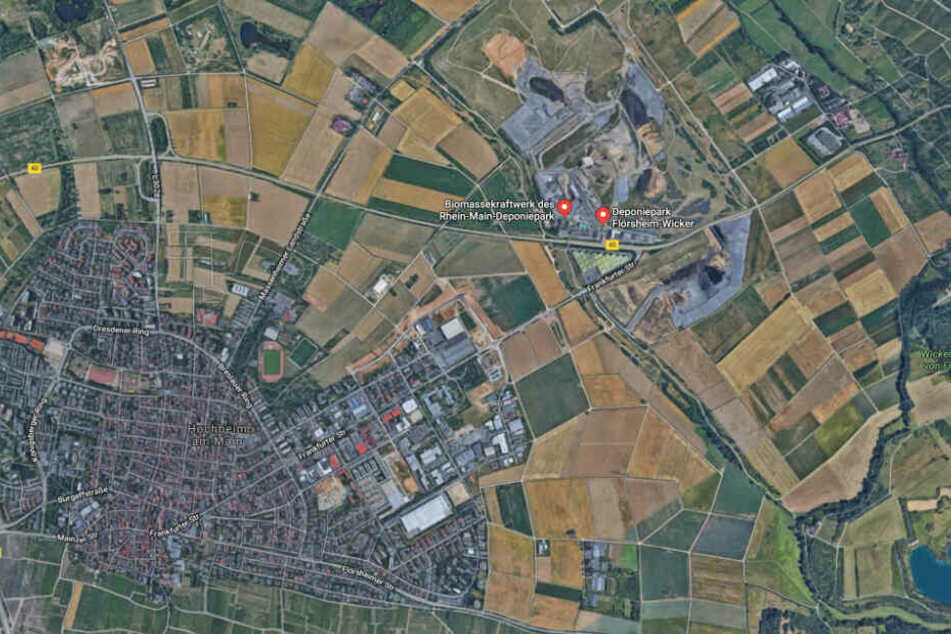 Der Rhein-Main-Deponiepark befindet sich in Flörsheim-Wicker.