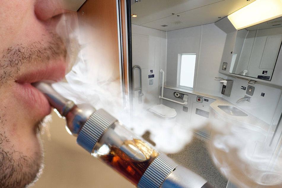 Dass der Rauchmelder beim Rauchen seiner E-Zigarette anspringen könnte, hatte der 22-Jährige offensichtlich nicht erwartet.