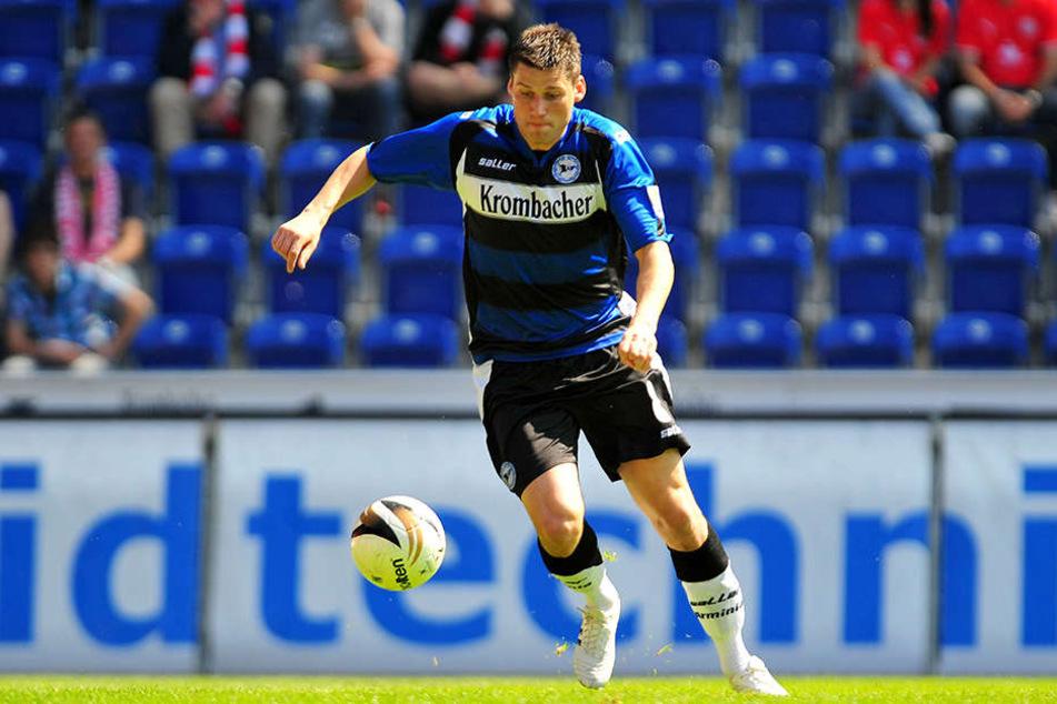 Für eine Saison (2009/2010) ging Giovanni Federico auf Torjagd für Arminia Bielefeld.