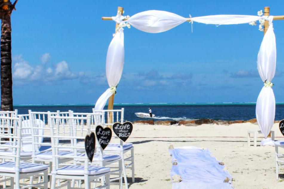 Traumhochzeit unter Palmen wegen Thomas-Cook-Pleite ohne Brautpaar?