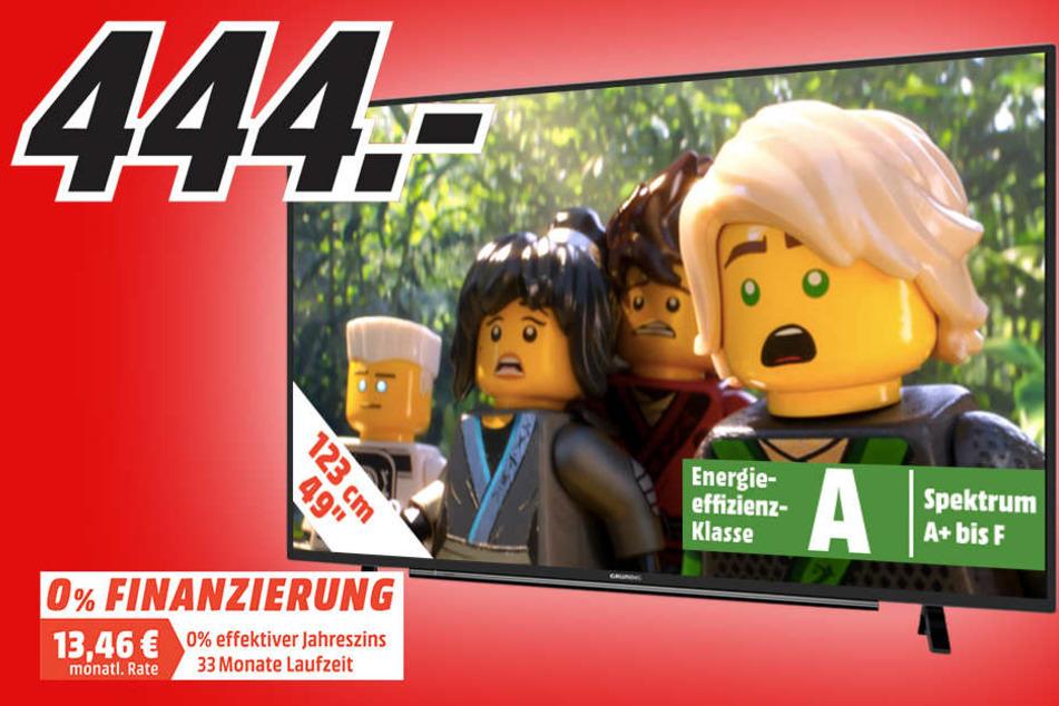 Nur für kurze Zeit: Grundig-TV von 649 auf 444 Euro gesenkt!