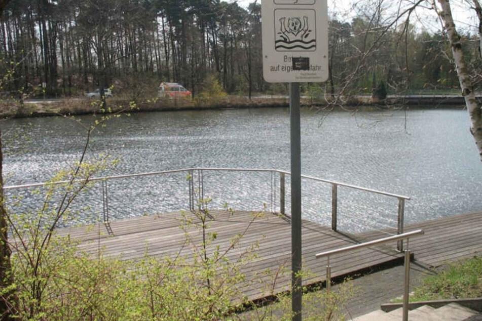 Schrecklicher Fund: Angler entdecken toten Mann im Teich