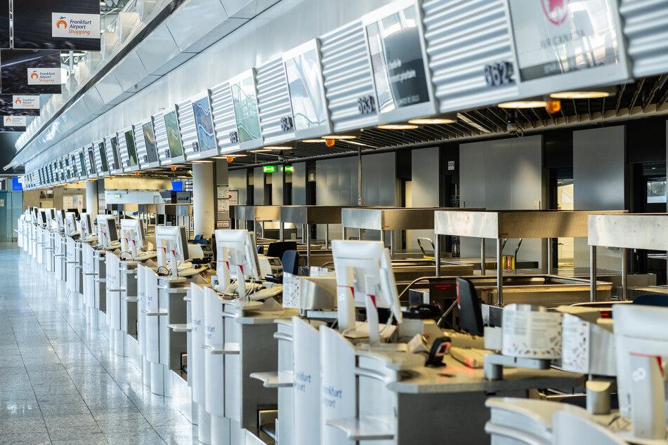 Der Frankfurter Flughafen hat sein Terminal 2 vorerst geschlossen.