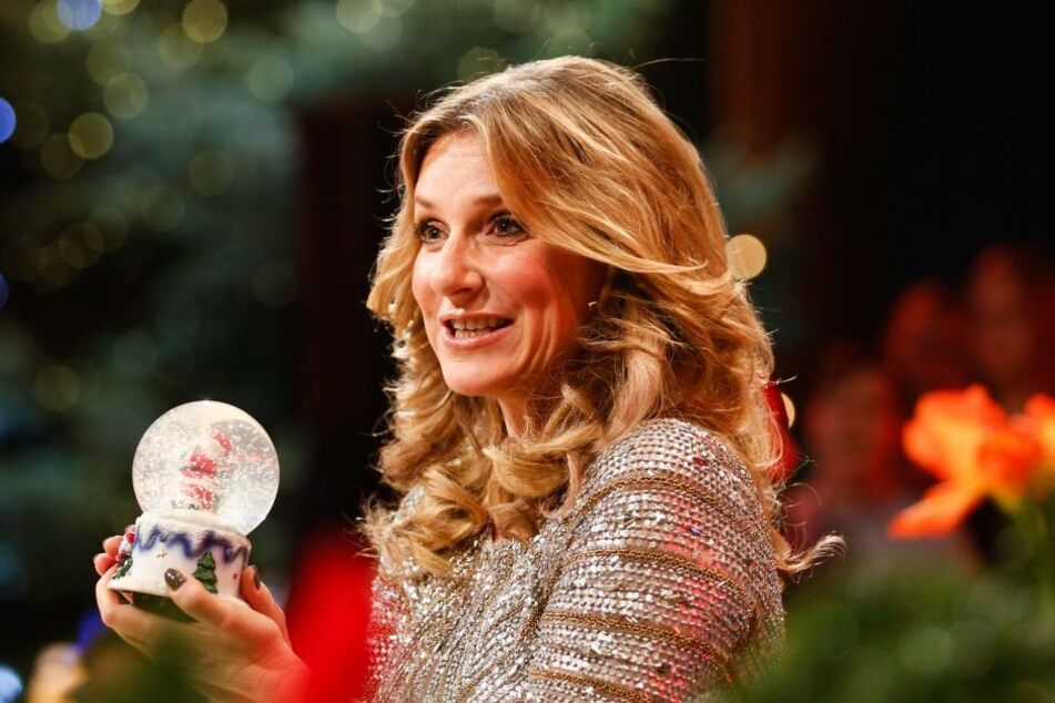 """Kim Fischer freut sich schon auf """"Weihnachten bei uns""""."""