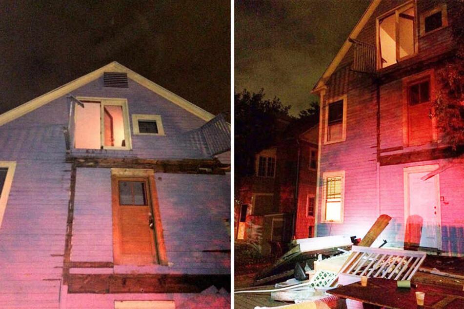 In den USA stürzten mehrere Balkone während einer Party ein. Über 30 Menschen würden dabei verletzt.