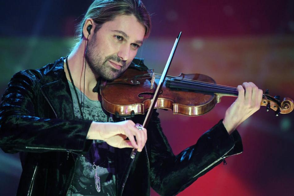 Der Geiger David Garrett ist ein Wunderkind der klassischen Musik.