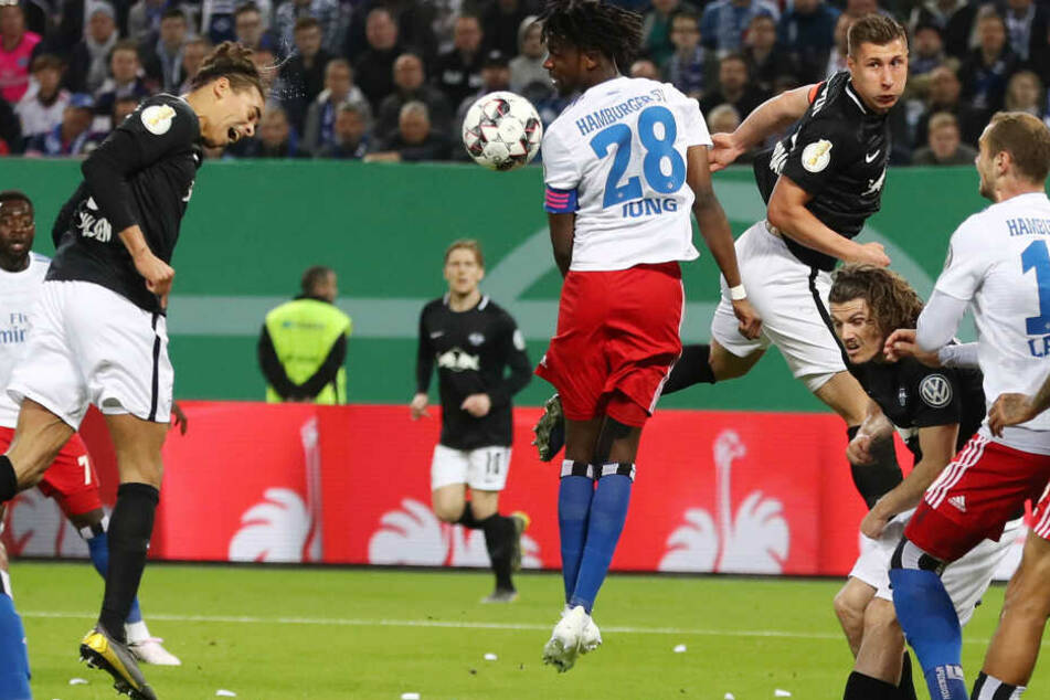 Am 23. April erkämpften sich die Roten Bullen gegen den Hamburger SV den Platz im DFB-Pokalfinale.