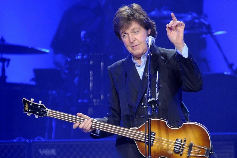 Ex-Beatle Paul McCartney 2011 bei einem Konzert in der Kölner Lanxess-Arena.