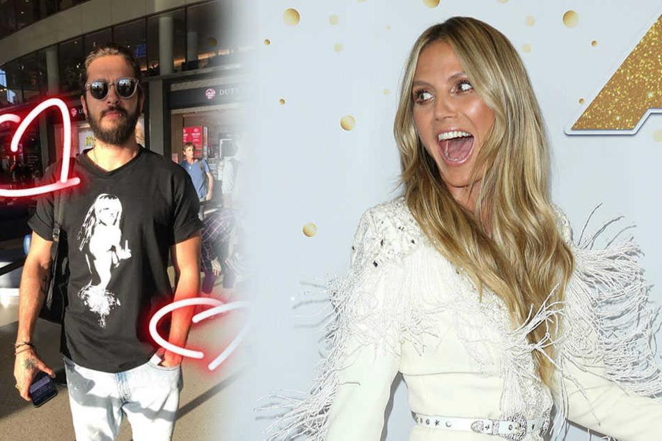 Tom Kaulitz mit Heidi-Shirt: Zufall oder echter Liebesbeweis?