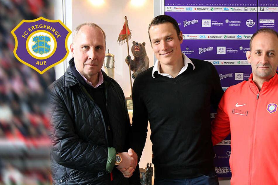 Aue schnappt Dynamo Marc Hensel weg