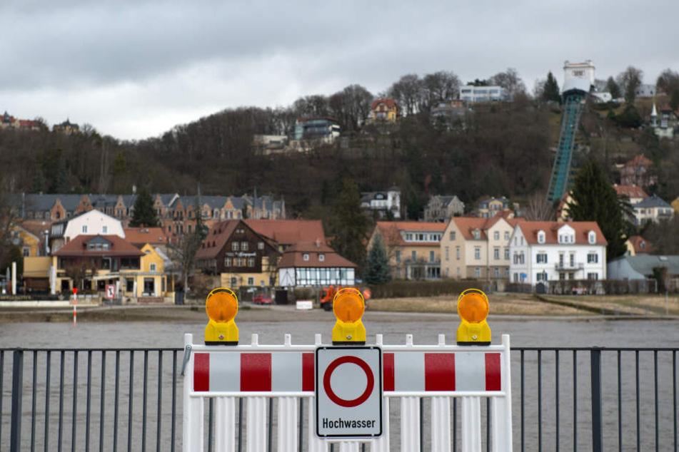 Im Februar wurde an der Elbe bereits vor Hochwasser gewarnt.