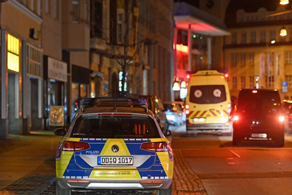 Polizei und auch ein Krankenwagen waren vor Ort.
