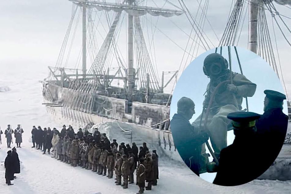 Schnee, Eis, beißende Kälte: Die Franklin-Expedition kommt endlich komplett bei Amazon.