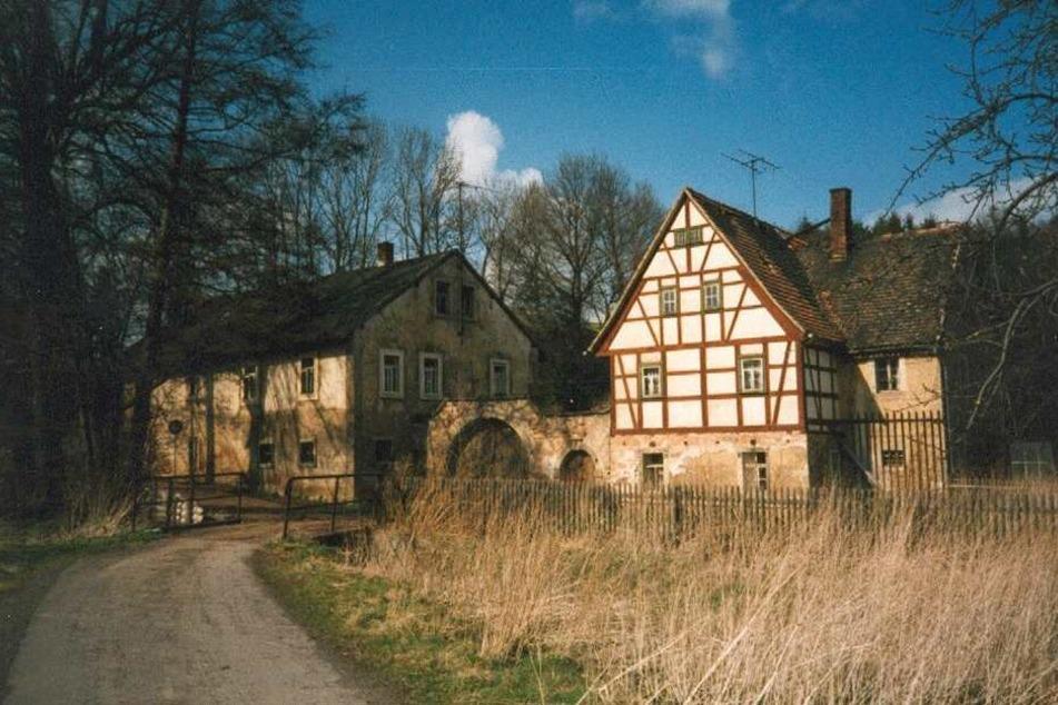 1997 war die Mühle noch in einem besseren Zustand.