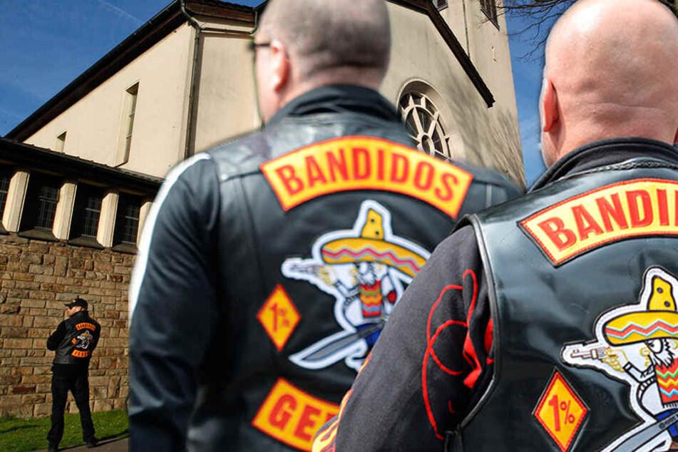 """Hier trauern """"Bandidos""""-Rocker um die Mordopfer von Herne"""