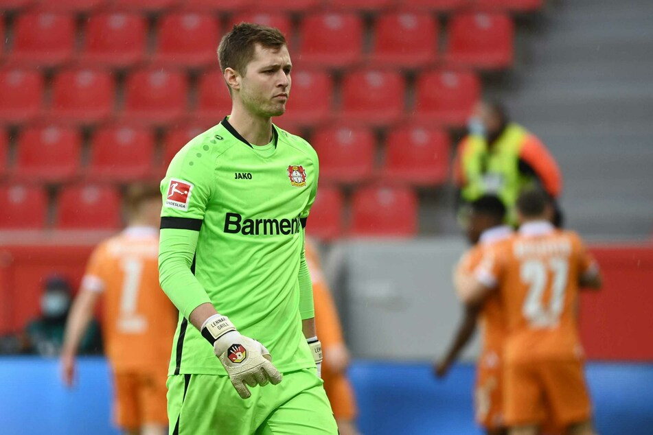 Lennart Grill (22) hat bei Bayern Leverkusen keine Zukunft mehr.