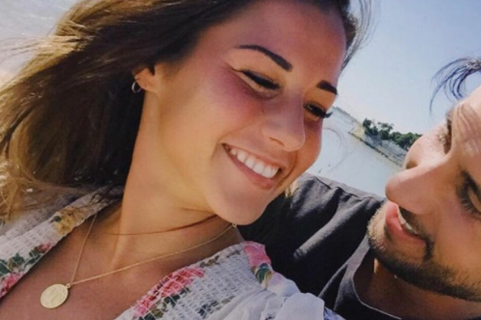 Sarah Lombardi und ihr Roberto: Das ist ihr erstes richtiges Kuss