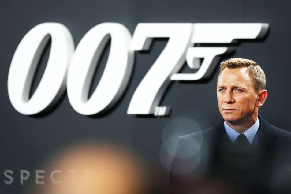 """Schauspieler Daniel Craig bei der """"James Bond 007 - Spectre"""" Premiere."""