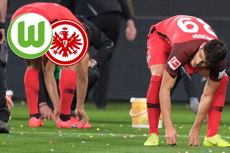 Verspätete Ostereier-Suche: Eintracht mit Dusel-Punkt in Wolfsburg