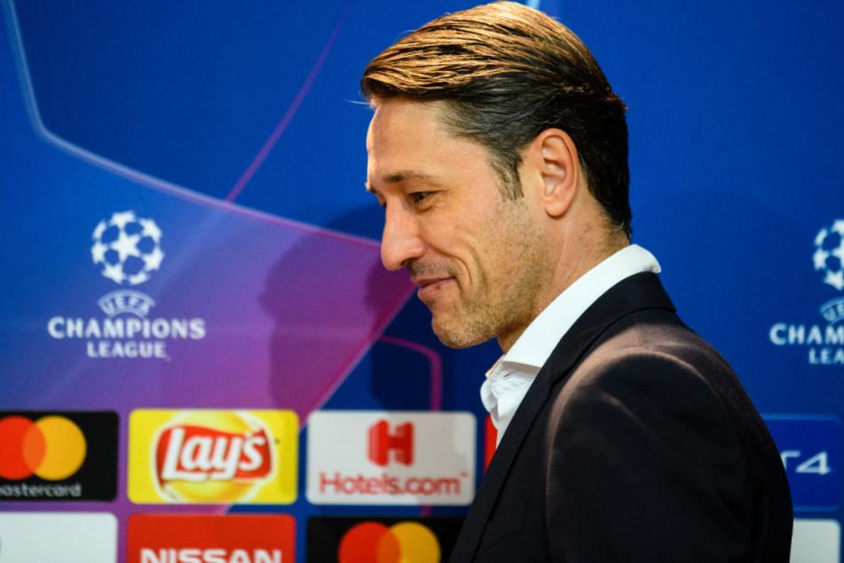 Niko Kovac trifft am Dienstag in der CL mit dem FC Bayern auf Benfica Lissabon.