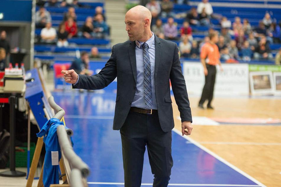 Außenseiter? Der neue Titans-Coach Liam Flynn geht mit dem Selbstvertrauen in  die Partie, dass sein Team die Niners  schlagen kann.