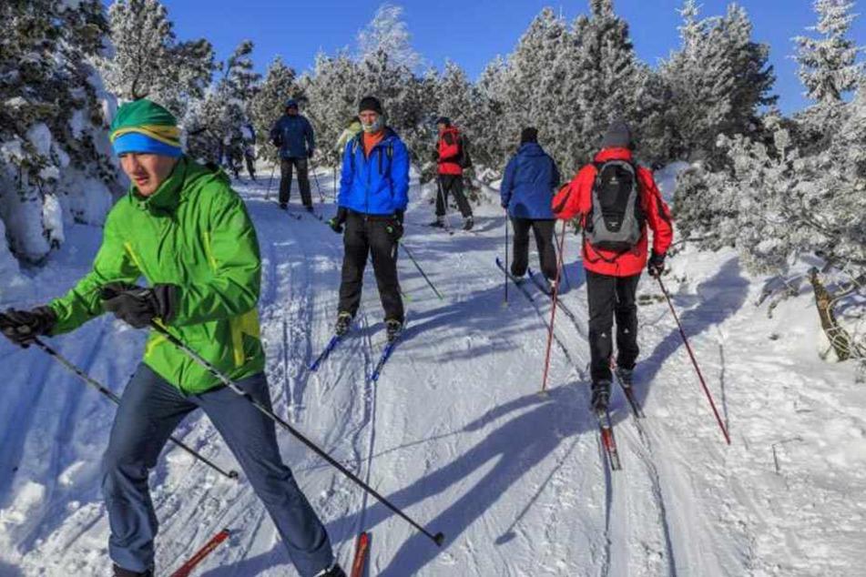 Wintersportler wird es freuen! Im Erzgebirge gibt es ab Montag wieder strengen Frost.