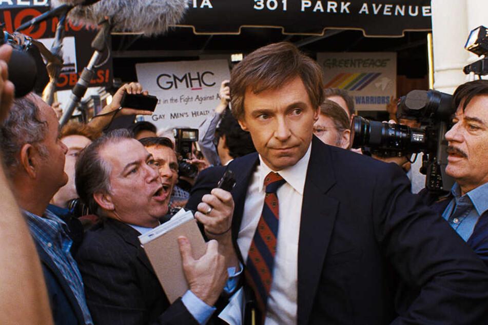 Gary Hart (Hugh Jackman) wurde - wie seine Frau und Tochter - bald von der Presse belagert.