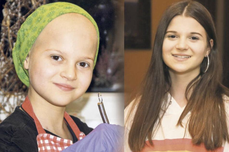 Geheilt! Eine Teenagerin aus Leipzig kämpfte erfolgreich gegen Leukämie