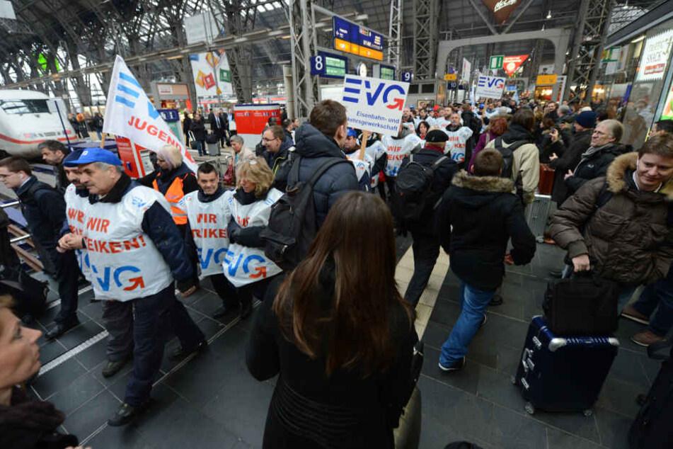 Warnstreiks bei der Deutschen Bahn: So hart trifft es uns Hessen
