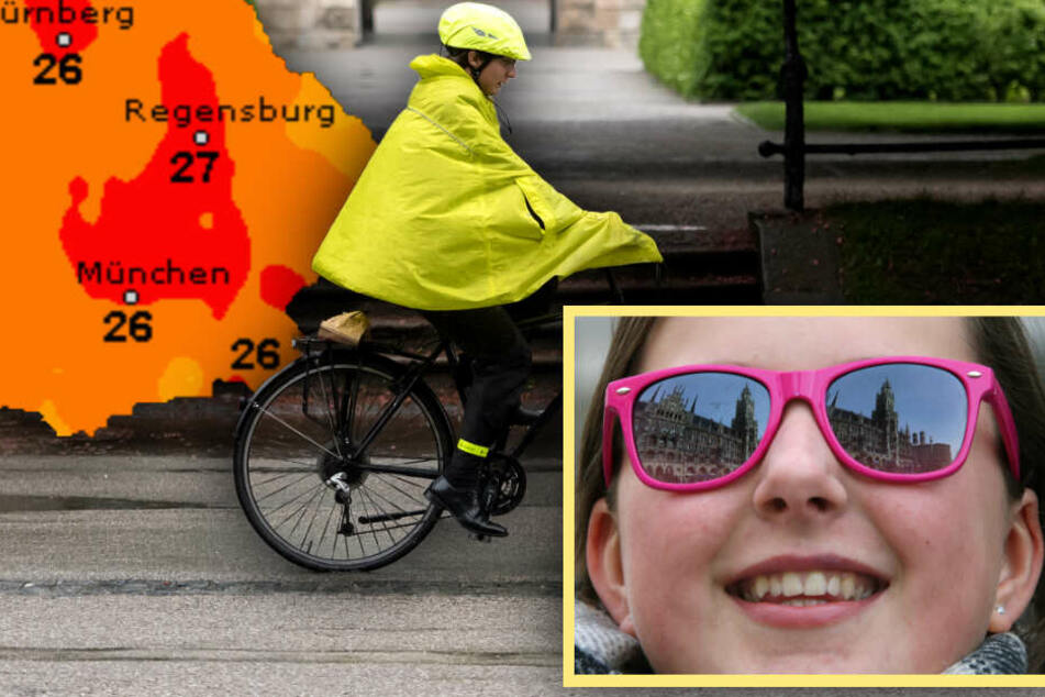 Sonnenbrille oder Regenjacke? So wird das Wetter in Bayern