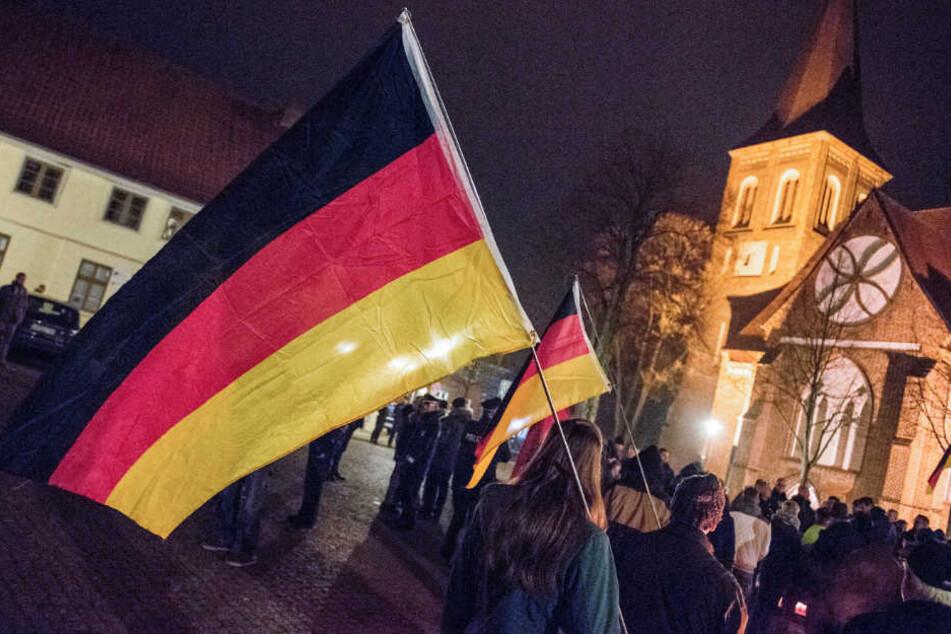 Die AfD rief in Wittenburg zu einer Mahnwache auf.