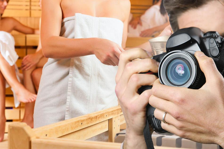 Heimlich filmte der 33-Jährige Besucher im Saunabereich. (Symbolbild)