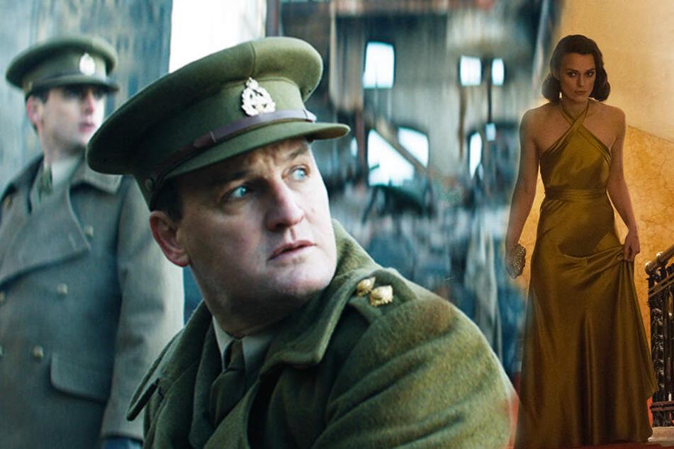 Wie wird sich die Beziehung von Rachael Morgan (r., Keira Knightley) und ihrem Mann Lewis (Jason Clarke) entwickeln? (Bildmontage)