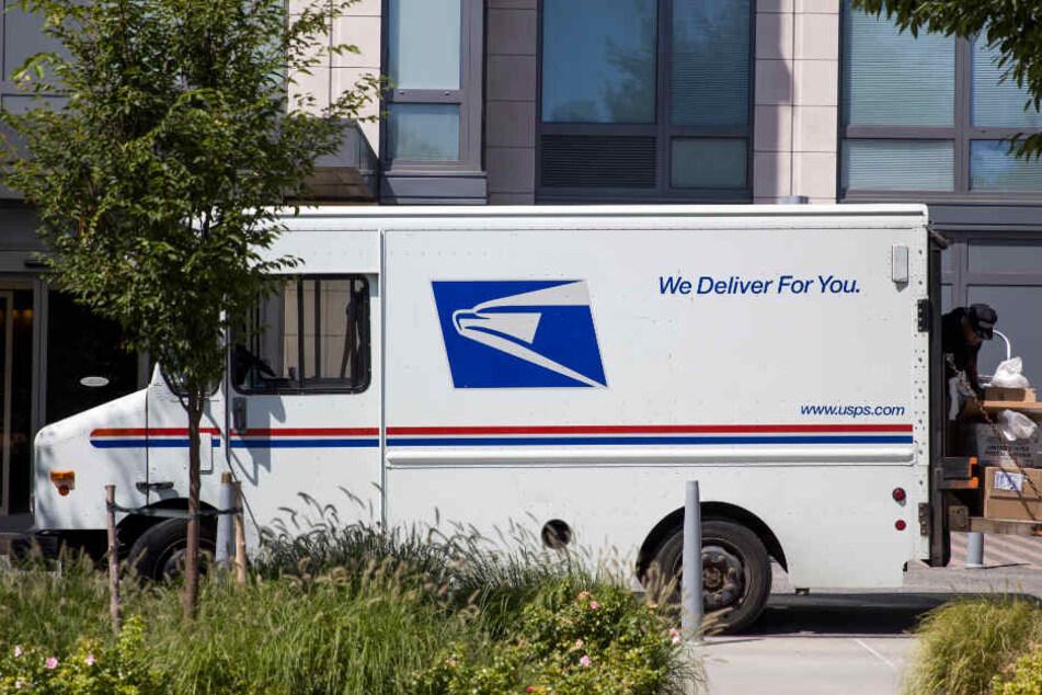 Postboten des US Postal Service sind im gesamten Land unterwegs.
