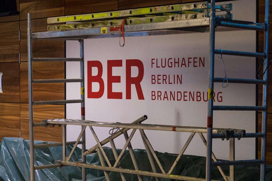 Der Flughafen BER ist bisher immer noch eine Baustelle.