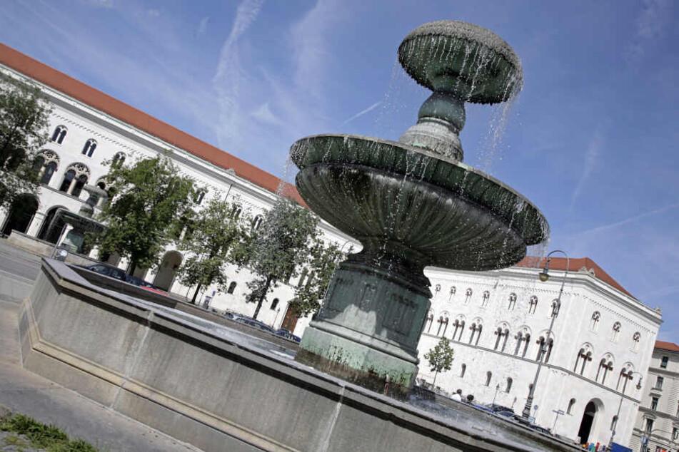 Das Hauptgebäude der Ludwig-Maximilians-Universität in München.