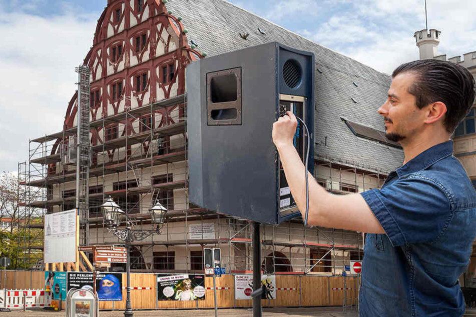 So ein Krach! Darum beschallen Experten das Gewandhaus mit 105 Dezibel